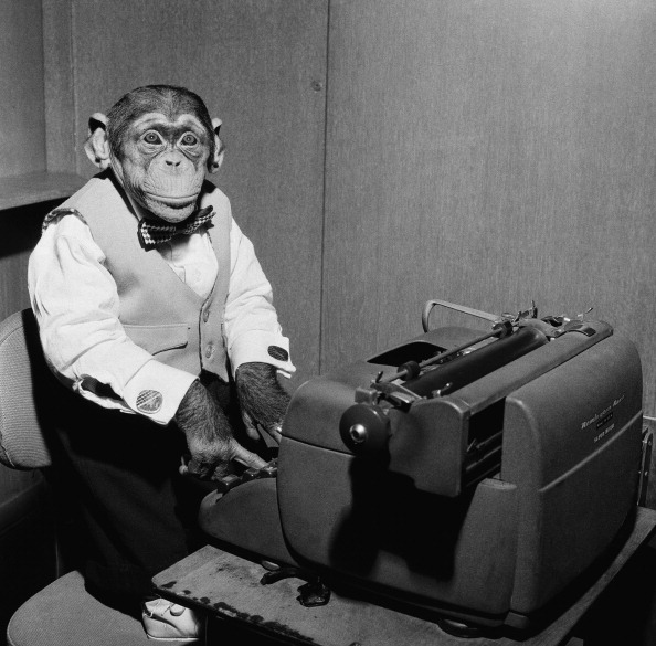 TODAY -- Pictured: NBC News' Kokomo Jr. the chimpanzee in 1957 -- Photo by: NBC/NBC NewsWire